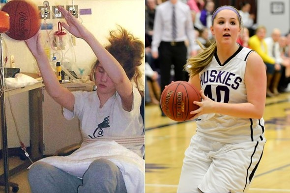 Girl astounds doctors by shooting hoops with a basketball - while in a coma!