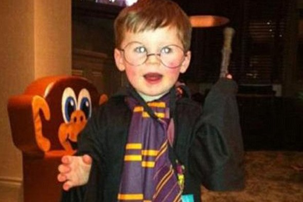 Kai Rooney is new Harry Potter (well on Twitter anyway)