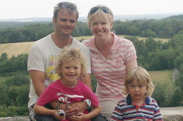 Michelle Amey and her family