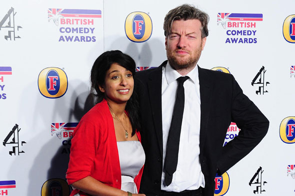 Konnie Huq and Charlie Brooker welcome baby boy Covey!