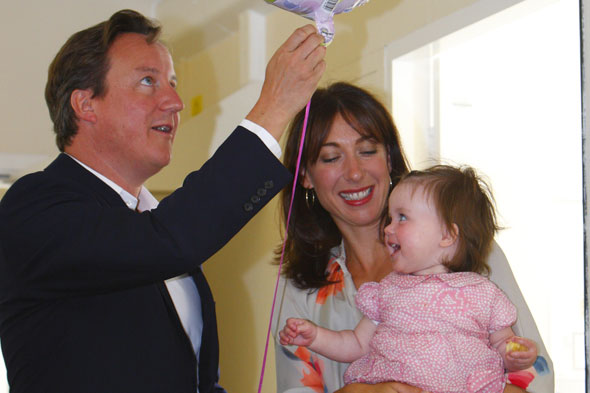 David Cameron hires 'swearing, drinking, shoplifting' nanny...