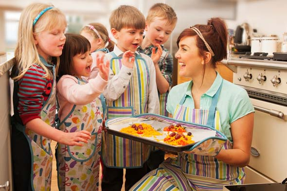 AWAITING A PIC Lakeland and CBeebies team up for kids' I Can Cook range