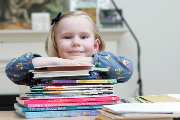 Easy as ABC: Four-year-old joins Mensa before starting school!