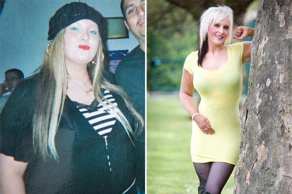 Twenty three stone mum goes on maternity leave - and loses half her body weight!