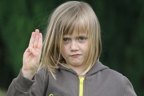Kacey Godfrey, 7, banned from Brownies over health and safety concerns