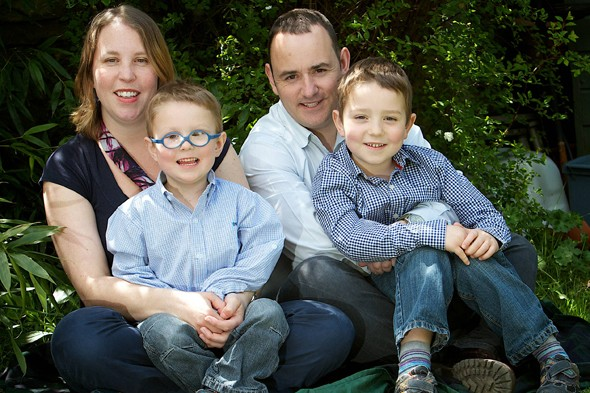 Boy, 4, beats more than a hundred cancer tumours in his eyes thanks to incredible fighting spirit