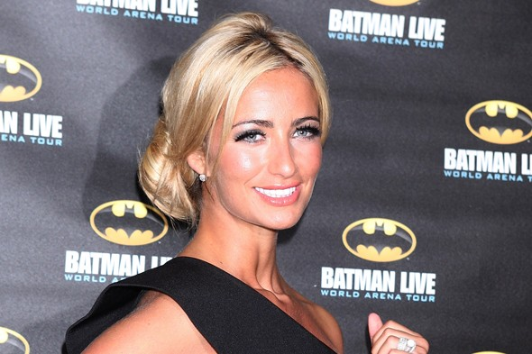 Chantelle Houghton to give birth in 'sexy black nightie'