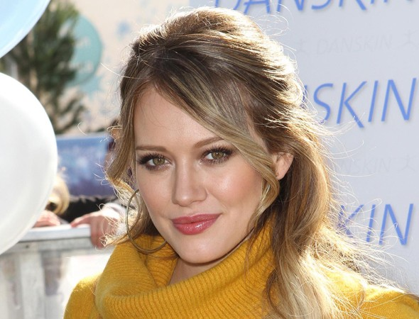 Hilary Duff: My labour was very easy