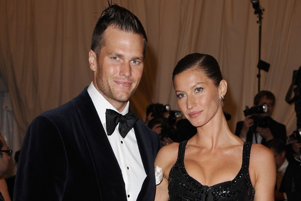 Gisele Bundchen and husband Tom Brady