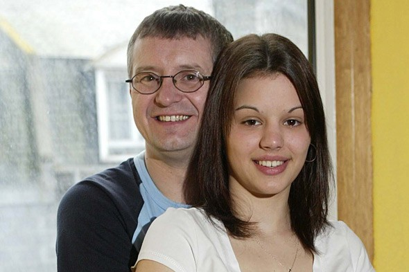 Claire Forrester and husband John