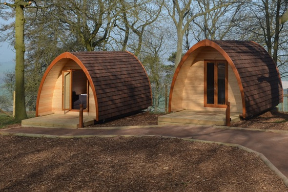 Whipsnade Zoo's new overnight experience, Lookout Lodge
