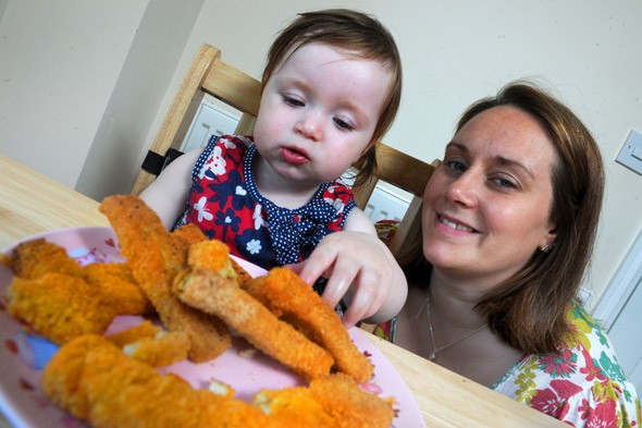 Toddler with mystery illness has to live on diet of gluten-free fish fingers to stay alive