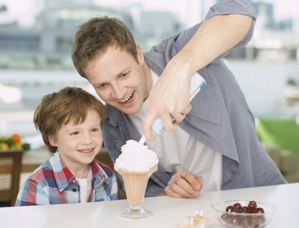 Why dads love to splash the cash