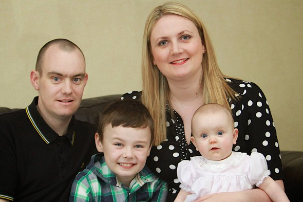 Billy the hero: Boy, 8, saves mum and unborn sister's life