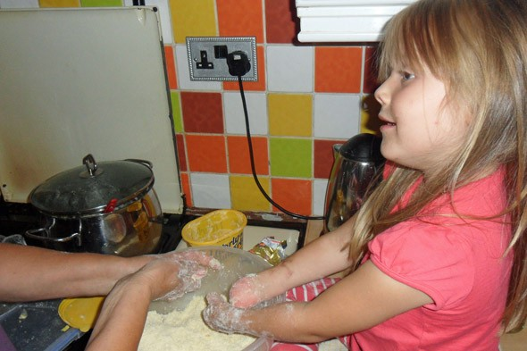 My daughter lost both legs and her hand to meningitis, but it doesn't stop her being the bravest baker in the world