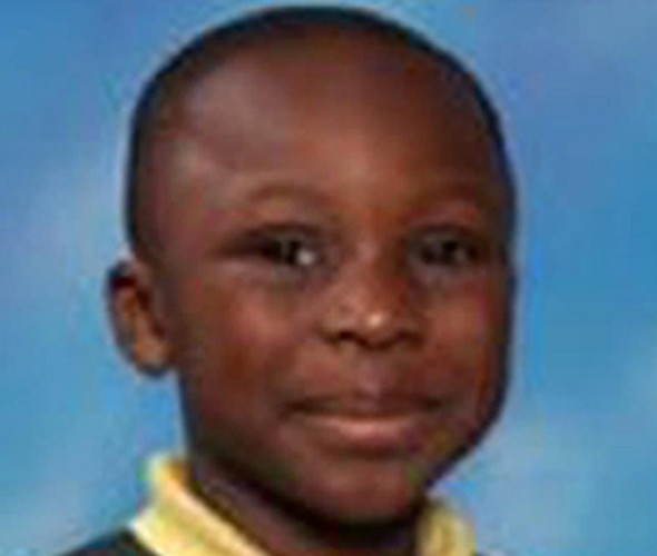 Samuel Orola who died trying to do a 'roly-poly' on a playground climbing frame