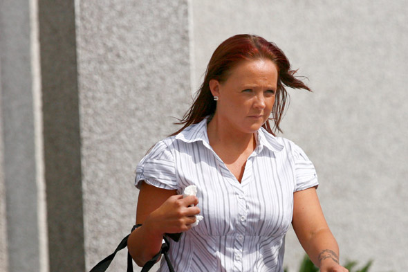 Kelly Fannin, mum-of-five jailed after blaming her kids for shoplifting spree which paid for £4,500 boob job