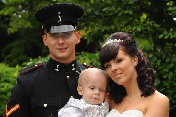 Parents bring wedding forward by four months - so their dying son can be a page boy