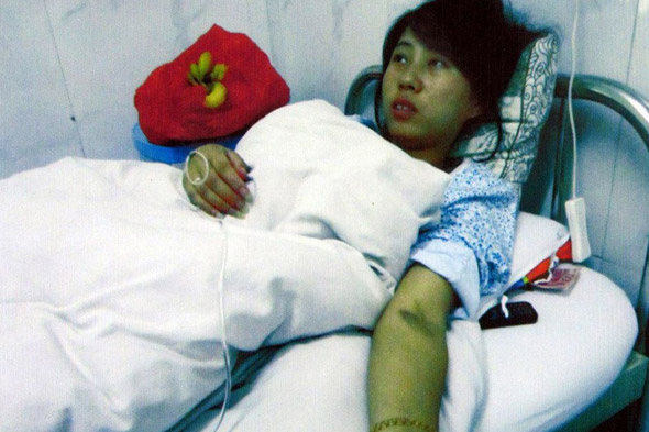 Chinese mum Feng Jiamnei receives £7,160 for baby she was forced to abort