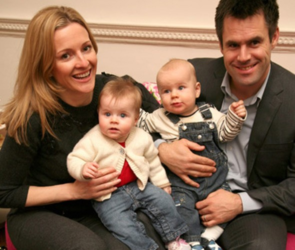 Kenny Logan: Gabby lost so much blood giving birth, I thought I was going to lose her