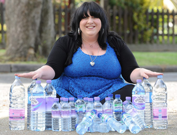 Mum's bizarre addiction: Sasha drinks 25 LITRES of water a day