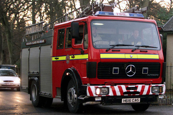 Three-year-old in hospital after fire is started in a PUSHCHAIR