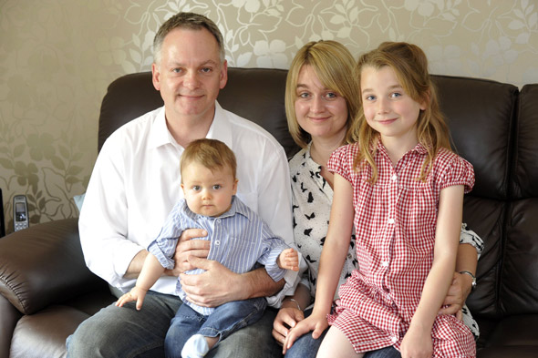 Parents fury at health visitors and GP who missed life-threatening heart defect in baby boy