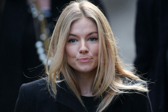Sienna Miller  reportedly 'gives birth in London'
