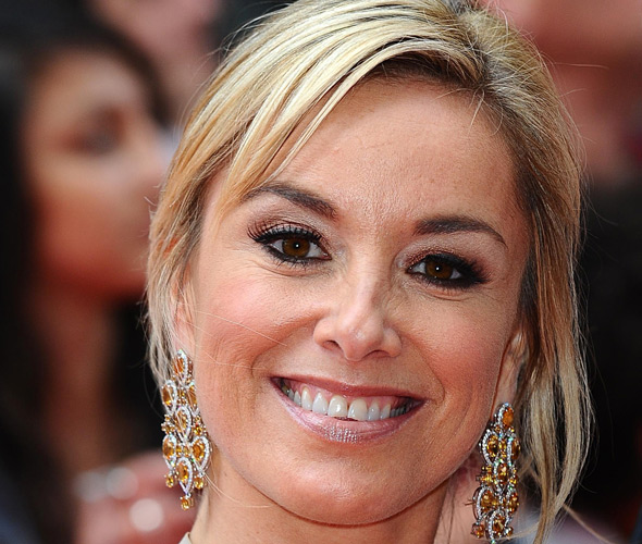 Tamzin Outhwaite whose house was burgled while she was inside with her daughter Florence