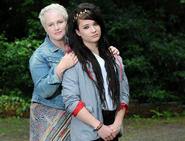 Transgender pupil Ashlyn Parram ordered to change into boys' clothes to sit exam
