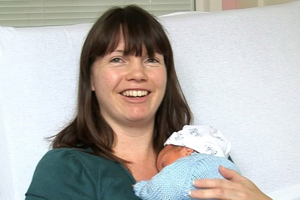Soldier spends 14 hours travelling 3,500 miles from Afghanistan by helicopter, plane and car to see birth of his son