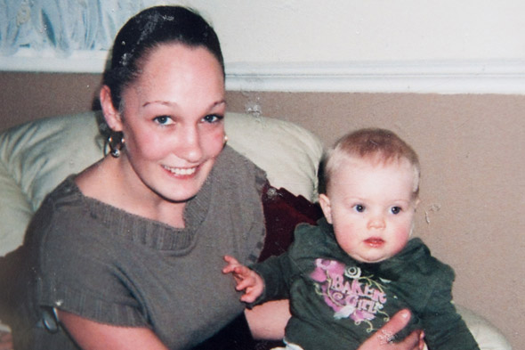 Young mum falls 12 floors to her death and is found by her daughter