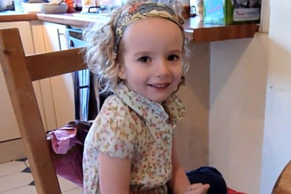 Lara Lewis was playing with seashells when she was swept out to sea