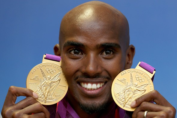Another double for Mo Farah - the birth of his twin girls