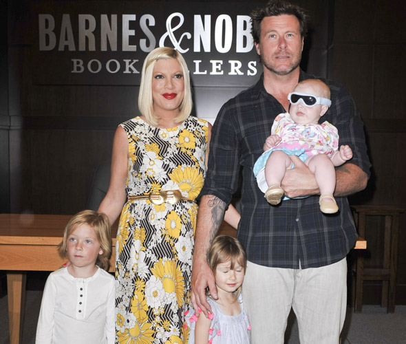 Tori Spelling gives birth to fourth baby