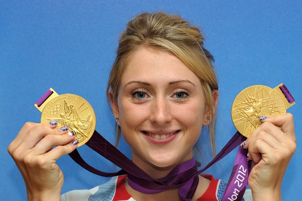 Double golden girl Laura Trott overcame a collapsed lung, asthma and childhood sickness to become an Olympic great