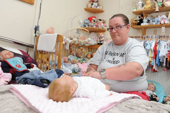 Mother-of-five's obsession with fake babies