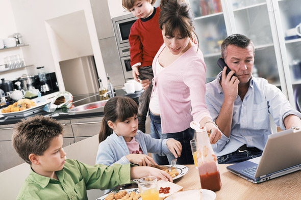The Semi-Detached Parent: How the other half live...