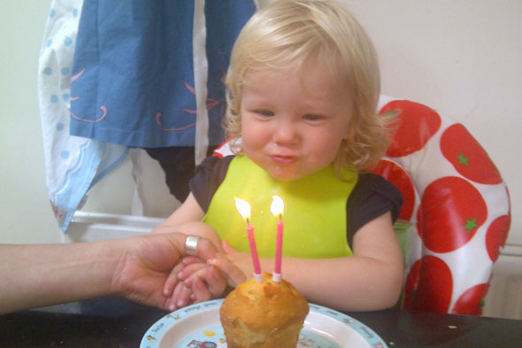 Three Into Four: Toddler turns 2!