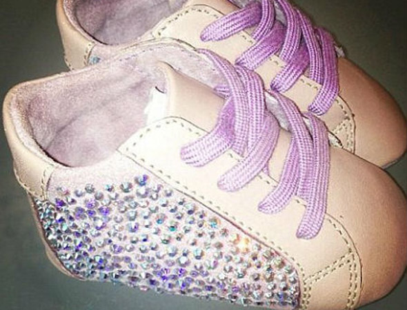 These boots were made for walking: Beyoncé's daughter Blue Ivy gets $800 sparkly booties