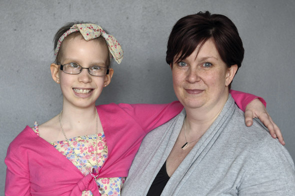 Schoolgirl with 'eating disorder' actually had two brain tumours