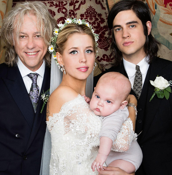 Bob Geldof says it was 'a relief' to see daughter Peaches married