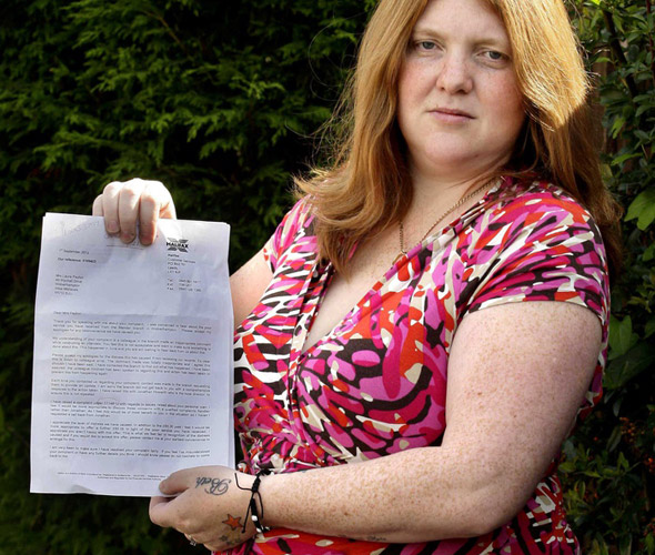 'Bet your daughter is glad she doesn't have ginger hair like you': Mum furious after bank worker makes crude remark about her red hair