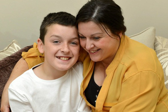 Schoolboy has 40 operations in eight years to cure a HEADACHE