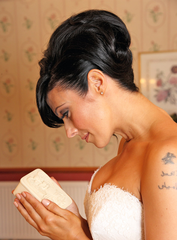 Kym Marsh carries baby Archie's ashes as she marries Jamie Lomas