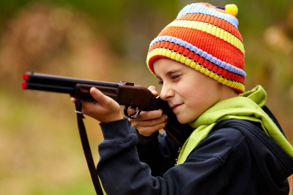 Children as young as 11 have been given gun licences