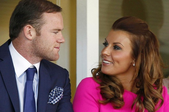 Coleen Rooney and husband Wayne Rooney expecting second baby