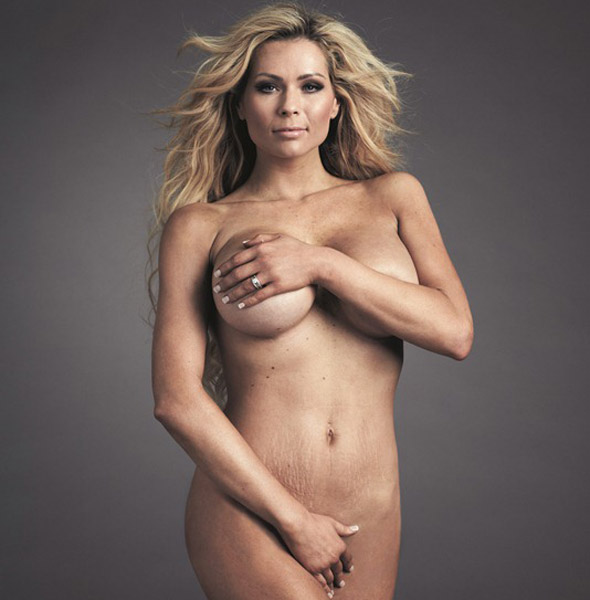 Mum-of-two Nicola McLean poses nude and confesses 'I hate my body'