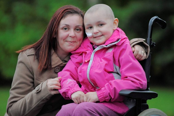 Bionic Girl! Brave Lily has 'growing' metal bones to replace those she lost to cancer