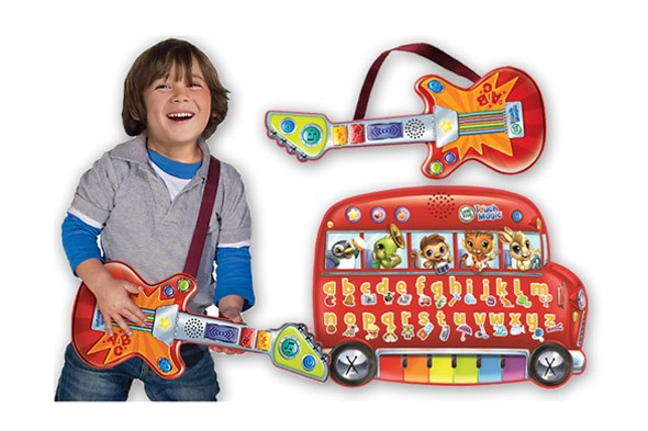 Win a Touch Magic Rockin' Guitar and Touch Magic Learning Bus from Leapfrog!